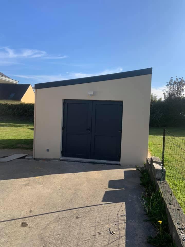 216897903 286789129912521 3114857668222591912 n - Constrution d'un garage , charpente, toiture panne...