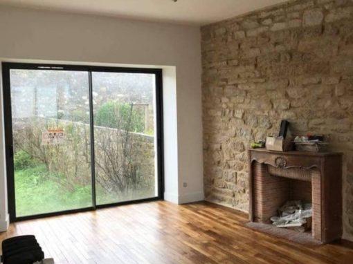 Menuiserie porte fenêtres parquet, Landerneau Finistère-nord