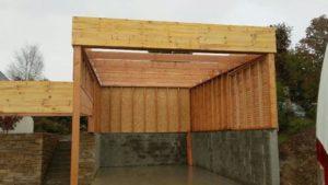 carport bois douglas pour camping car 5