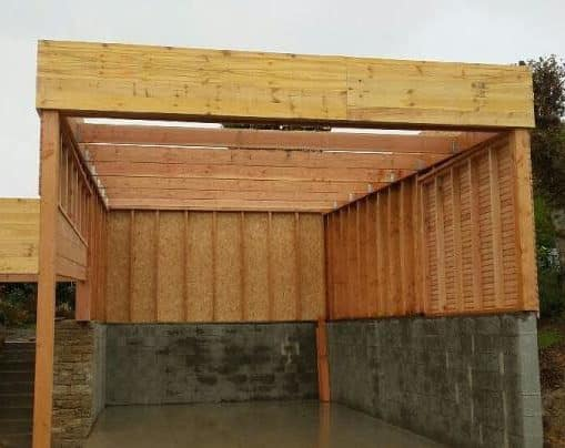 carport bois douglas pour camping car 5 e1625753663385 - Charpente - Ossature Bois