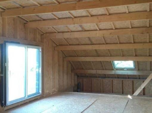 charpente maison ossature bois crozon 1