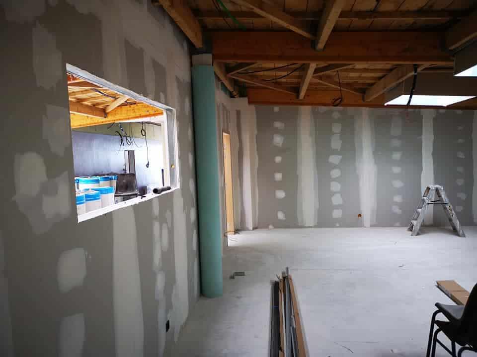 renovation club nautique camaret sur mer 6 - Placo - Isolation
