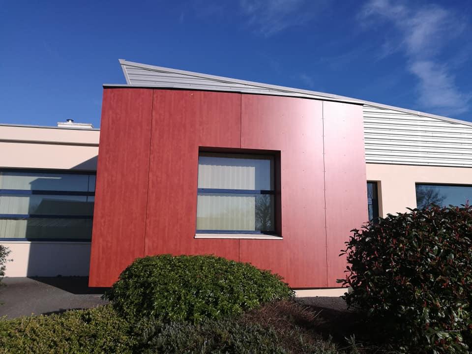 renovation salle multi fonction plouedern apres - Charpente - Ossature Bois