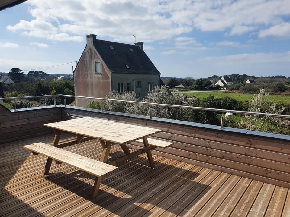 Modification de charpente, Création d'une terrasse…